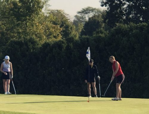St. Henry's Ellen Naumann – DII Girls State Golf Tournament