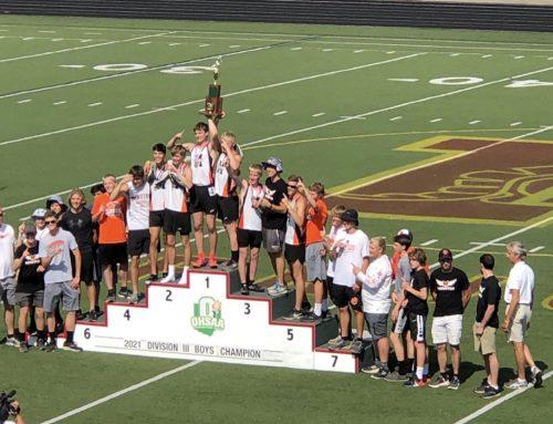 Minster Boys Track & Field – 2021 OHSAA DIII Track & Field State Champions